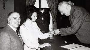 Boda Sophia Loren y Carlo Ponti