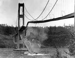 Desplome puente colgante Tacoma Narrows