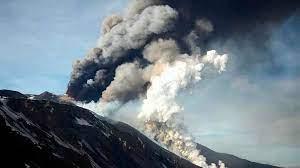 El Etna en Erupcion