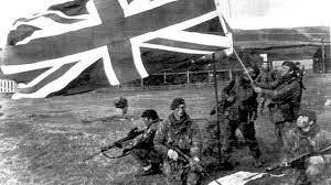 Fin guerra de las Malvinas