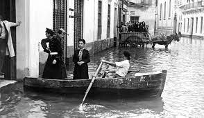 Inundaciones en Sevilla 1961