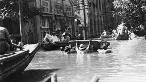 Inundaciones Yang Tse Kiang 1954