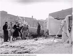Ola de frio en España 1956