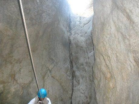 Barranco del Castell en penaguila 2
