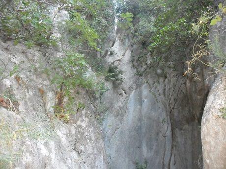 Barranco del Castell en penaguila 3