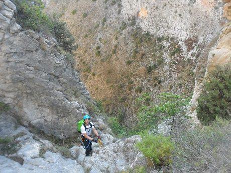 Barranco del Castell en penaguila 4