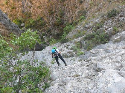 Barranco del Castell en penaguila 6