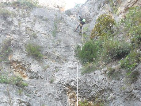Barranco del Castell en penaguila 7