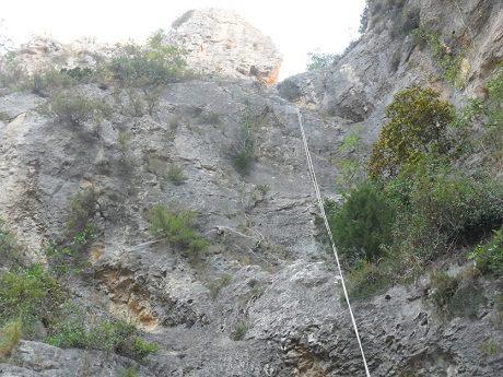 Barranco del Castell en penaguila 8