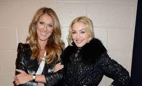 Celine Dion y Madonna