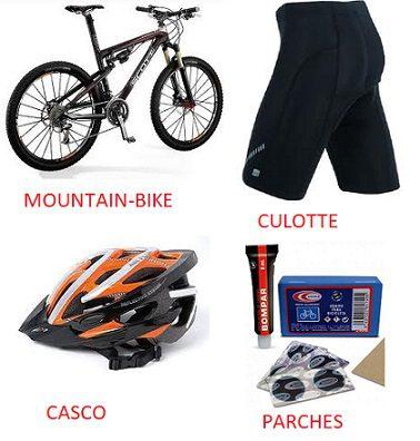 Consejos mountain bike materiales