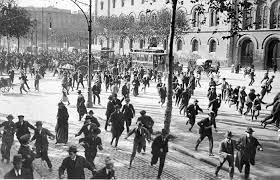 Disturbios en universidades 1970