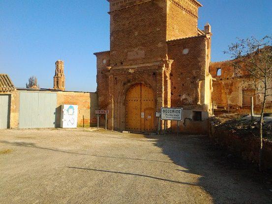 Entrada Belchite Viejo