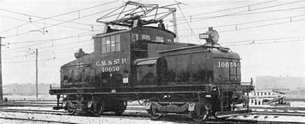 Locomotora electrica 2