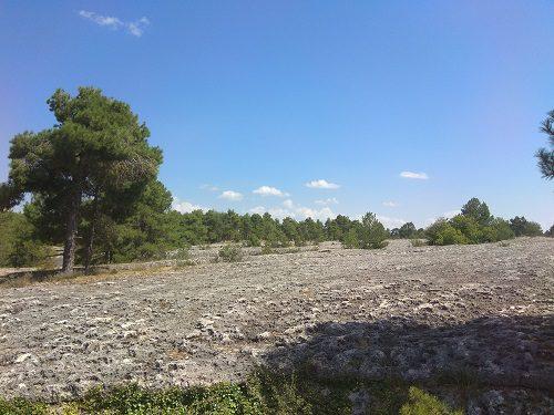 Mar de piedra en Cuenca