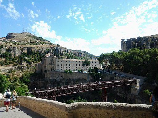 Puente colgado de Cuenca
