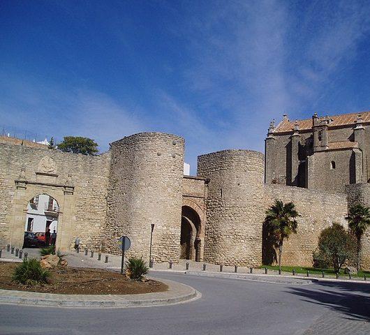 Puerta arabe de Almocabar