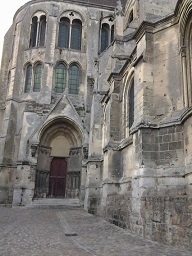 Lateral Izquierdo catedral Noyon