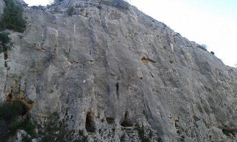 Zona escalada barranc de Ferry 1