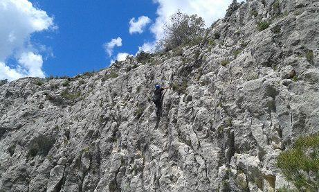 Zona escalada barranc de Ferry 5