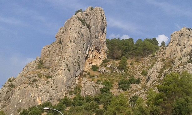 Zona escalada cresta del Castellar