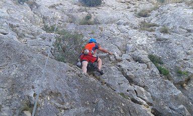 Zona escalada Ull del Moro 2