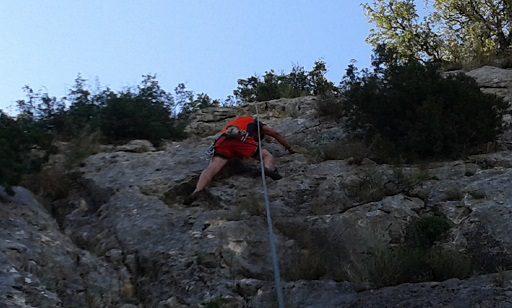 Zona escalada Ull del Moro 3