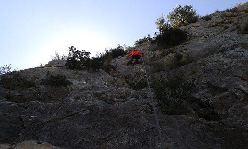 Zona escalada Ull del Moro 5