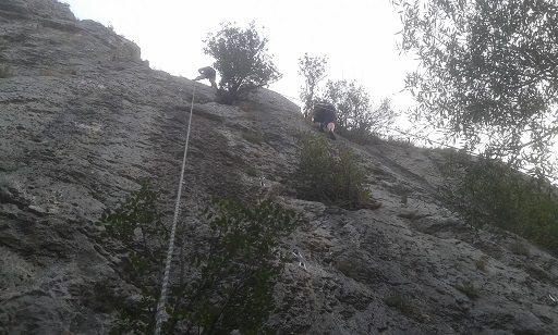 Zona escalada el Aventador 5