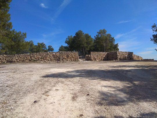 Ruta senderismo poblado Ibero barranco la Bastida 5
