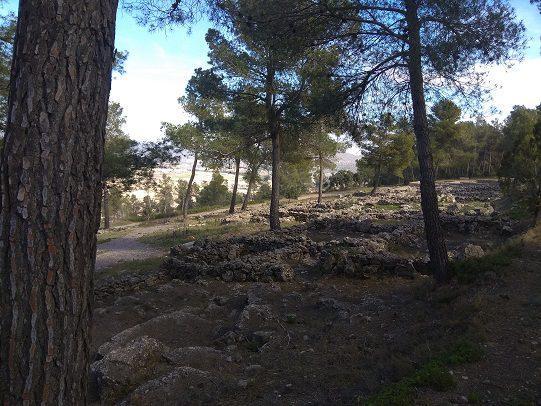 Ruta senderismo poblado Ibero barranco la Bastida 6