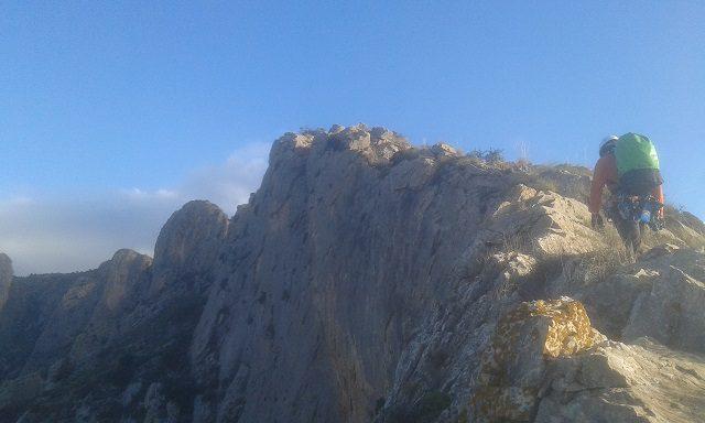 Cresta cuevas del Canelobre 1