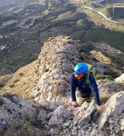 Cresta cuevas del Canelobre 3