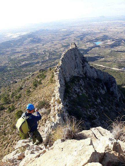 Cresta cuevas del Canelobre 6