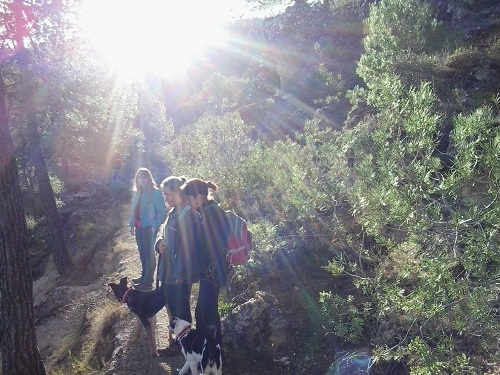 Ruta senderismo Agres santuario Cavas 1