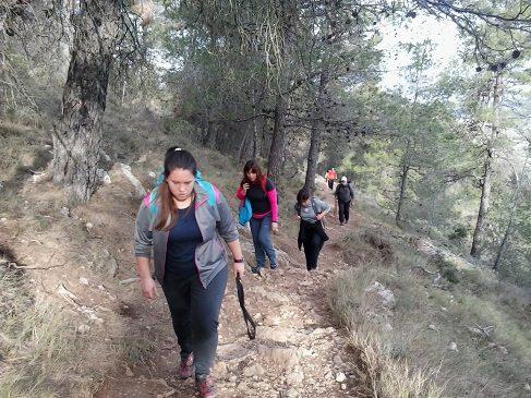 Ruta senderismo Agres santuario Cavas 2