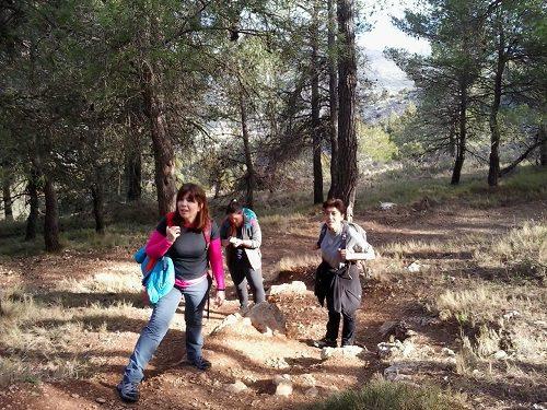 Ruta senderismo Agres santuario Cavas 3