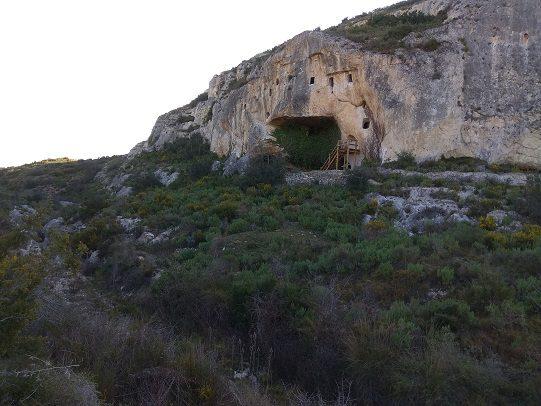 Ruta senderismo cova de les Finestres 4