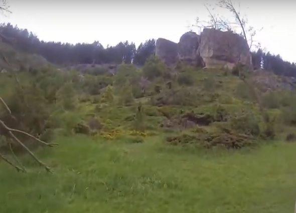 Zona escalada Recuevas