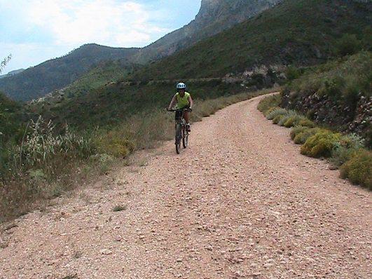 Mountain bike Atzeneta de Albaida Fon Freda Benicadell 2
