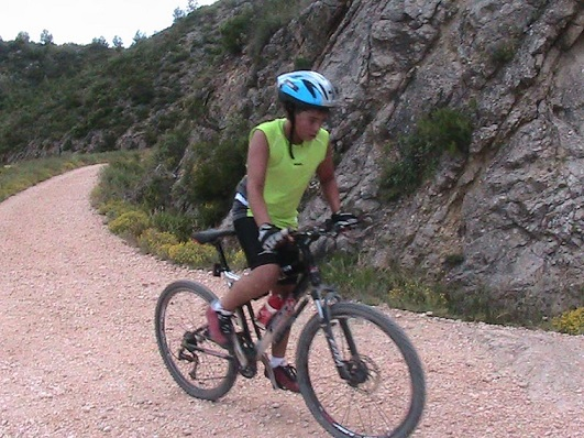Mountain bike Ontinyent Banyeres nacimiento del Vinalopo