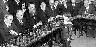 Jugando ajedreez con muchos tableros