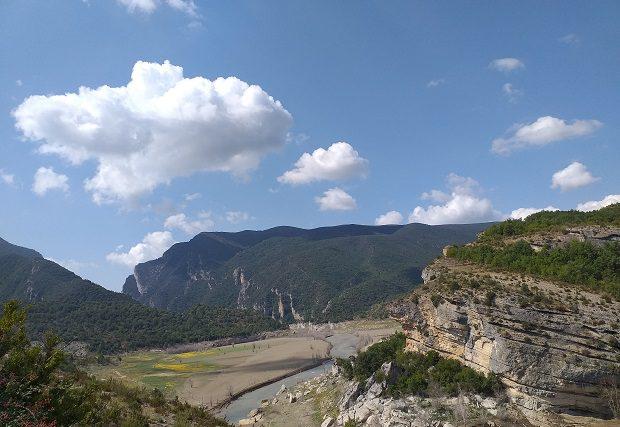 Ruta congost de Mont Rebei y pasarelas de Montfalco