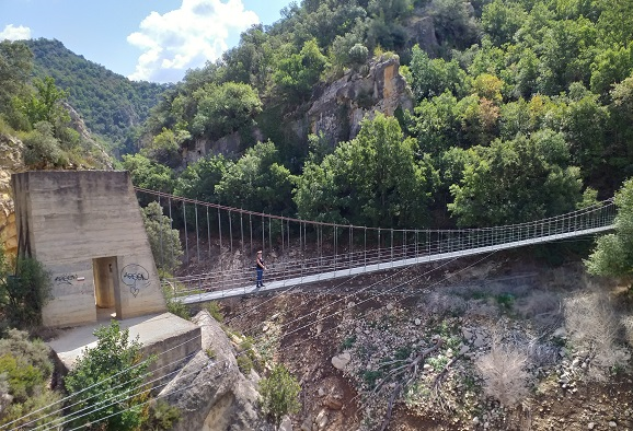 Ruta congost de Mont Rebei 2