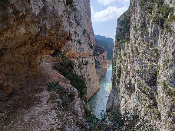Ruta congost de Mont Rebei 4