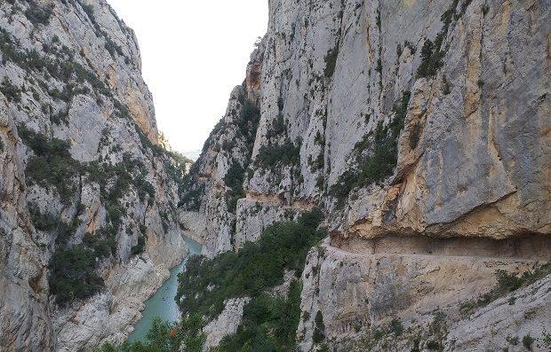 Ruta congost de Mont Rebei 7