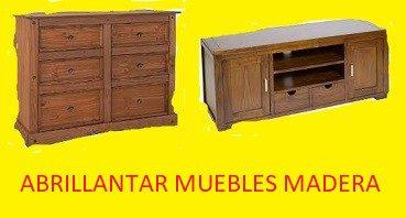 Abrillantar muebles de madera