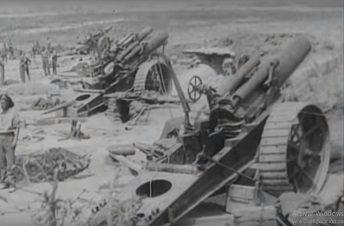 Artilleria aliada en el Somme