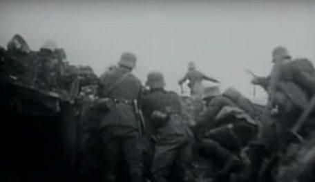Alemanes en trincheras