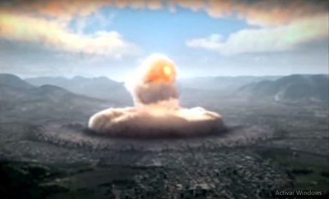 Bomba atomica en Hiroshima